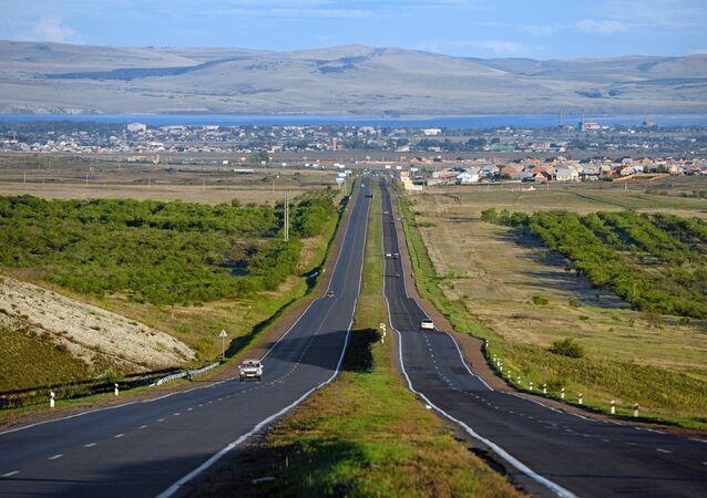 Una strada russa
