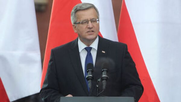 Presidente della Polonia Bronisław Komorowski - Sputnik Italia