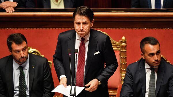 Il discorso al Senato, il 20 agosto - Sputnik Italia