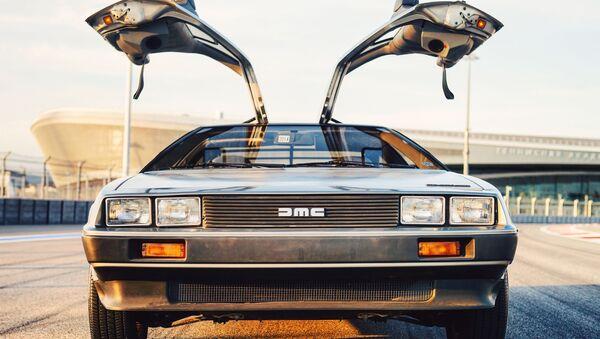 L'automobile DeLorean del film Ritorno al Futuro - Sputnik Italia