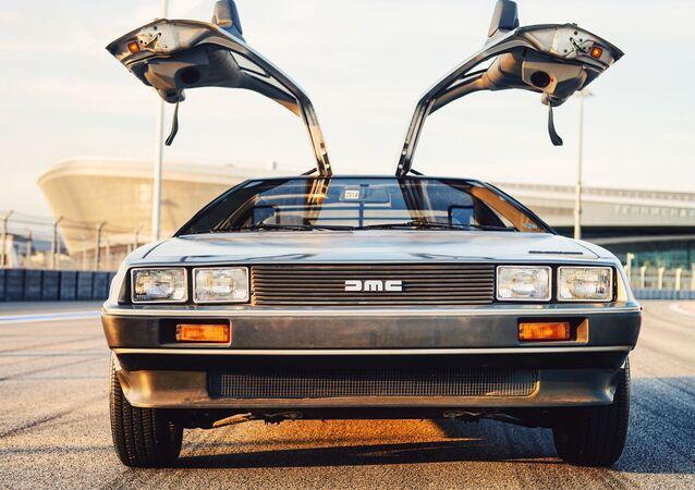 L'automobile DeLorean del film Ritorno al futuro