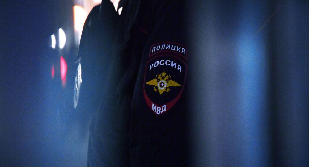 Emblema della polizia russa