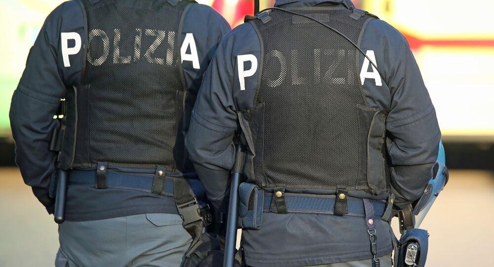 La polizia italiana