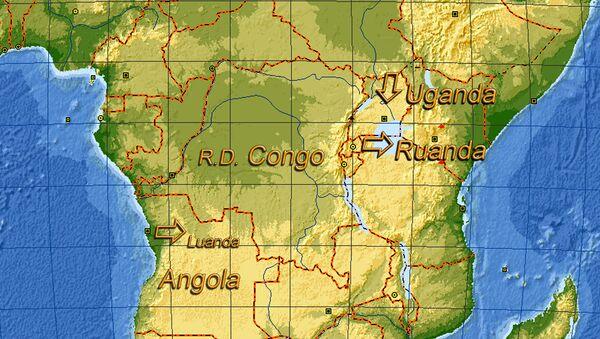 Uganda e Ruanda - posizione sulla mappa - Sputnik Italia