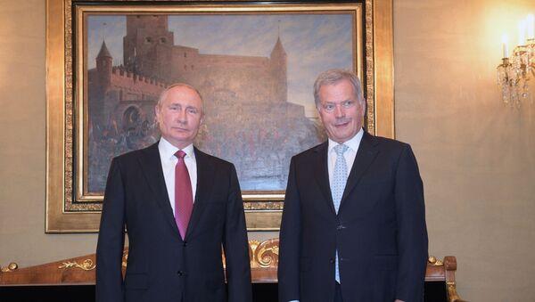 La visita ufficiale di Vladimir Putin in Finlandia - Sputnik Italia