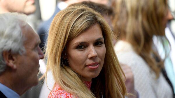 La fidanzata di Boris Johnson, Carrie Symonds - Sputnik Italia