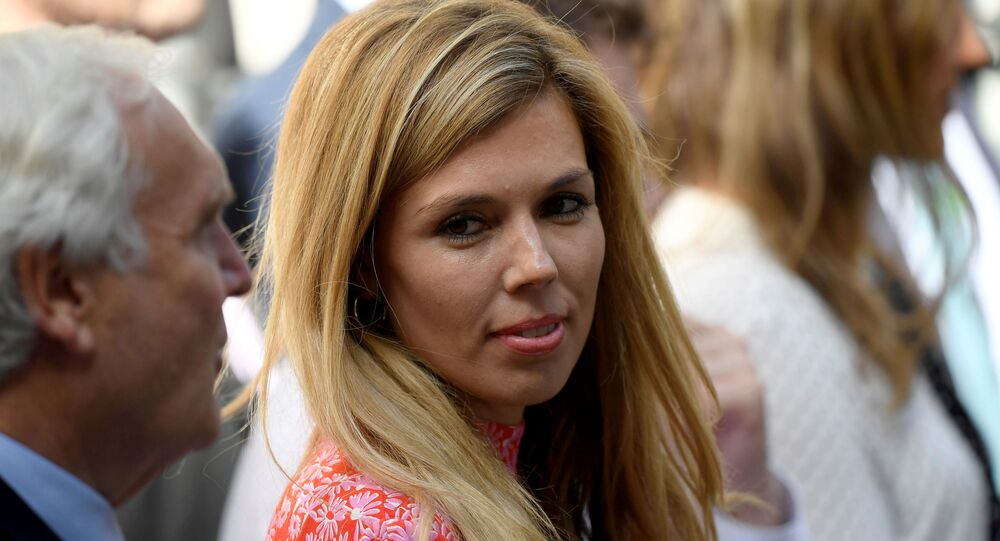 La fidanzata di Boris Johnson, Carrie Symonds