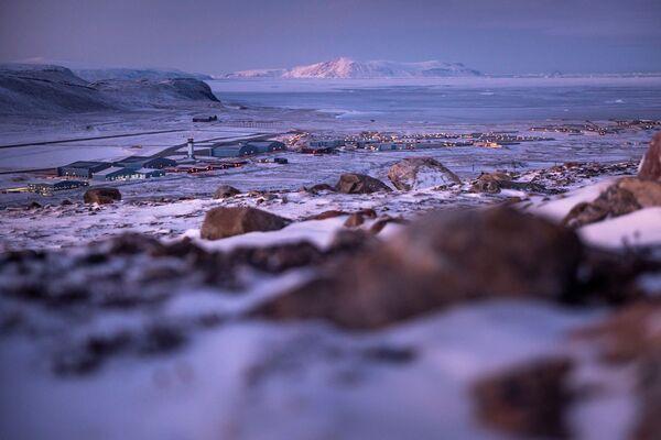 La base aerea di Thule americana nella parte nord-occidentale della Groenlandia. - Sputnik Italia