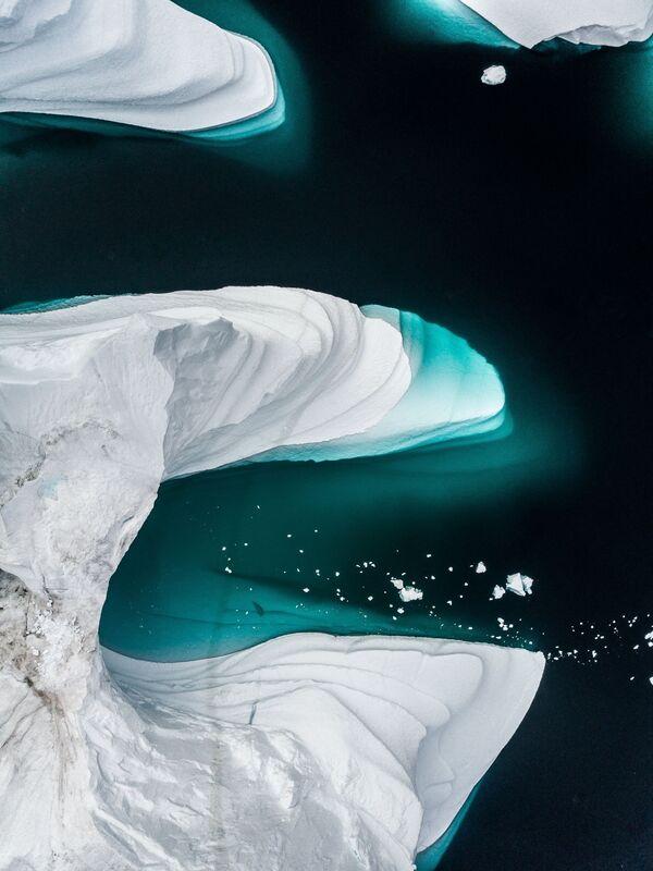 Gli iceberg in Groenlandia. - Sputnik Italia