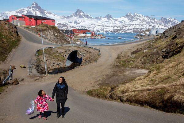 La città di Tasiilaq, Groenlandia. - Sputnik Italia