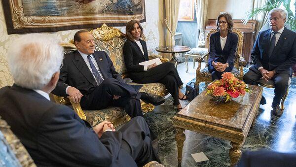 Mattarella, Bernini, Gelmini, Berlusconi, Tajani - Sputnik Italia