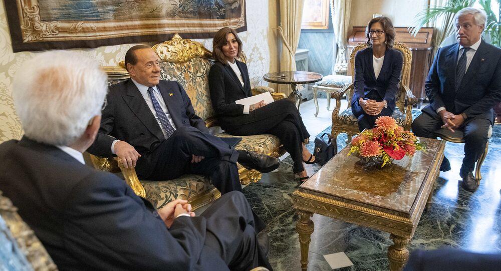 Mattarella, Bernini, Gelmini, Berlusconi, Tajani
