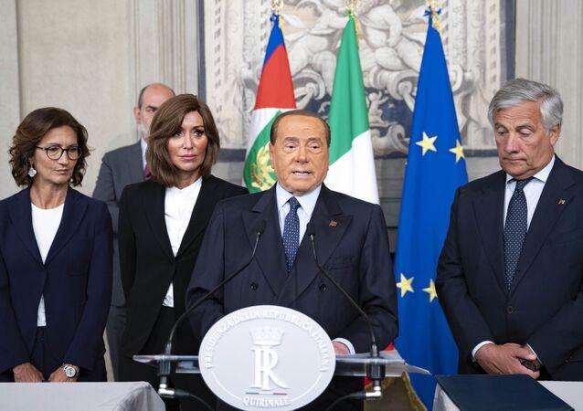 Il partito di Berlusconi in occasione delle consultazioni