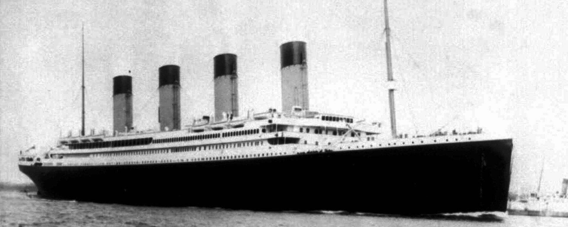 Il transatlantico Titanic - Sputnik Italia, 1920, 06.11.2020