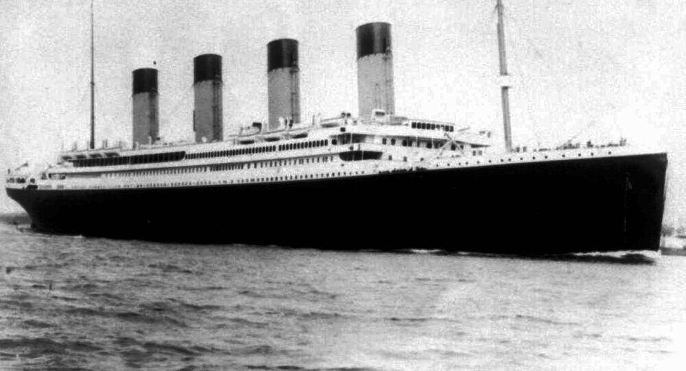 Transatlantico Titanic (immagine d'archivio)