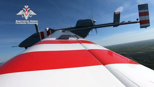 Primo volo del velivolo senza pilota Forpost-R - Sputnik Italia