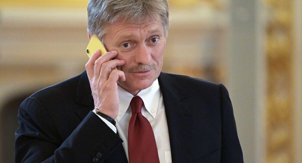 Dmitry Peskov, portavoce del presidente russo (foto d'archivio)