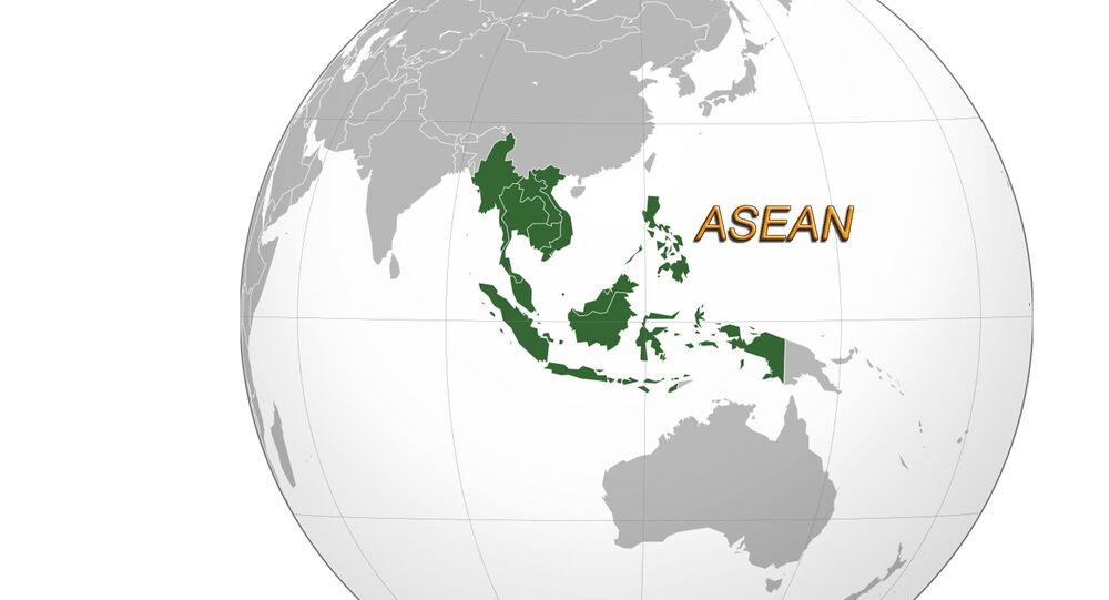 Paesi dell'ASEAN - posizione sulla mappa