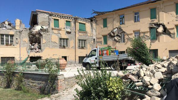 Le conseguenze del terremoto ad Amatrice - Sputnik Italia