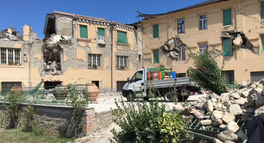 Le conseguenze del terremoto ad Amatrice