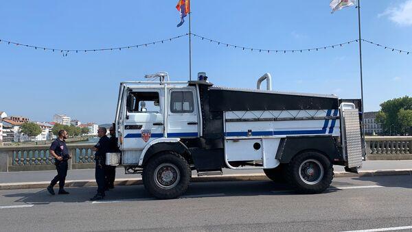 Misure di sicurezza a Bayonne - Sputnik Italia