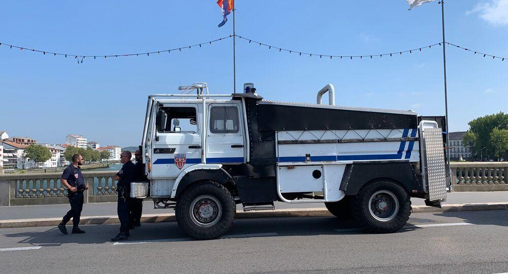 Misure di sicurezza a Bayonne