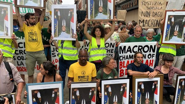 Marcia dei ritratti a Bayonne - Sputnik Italia