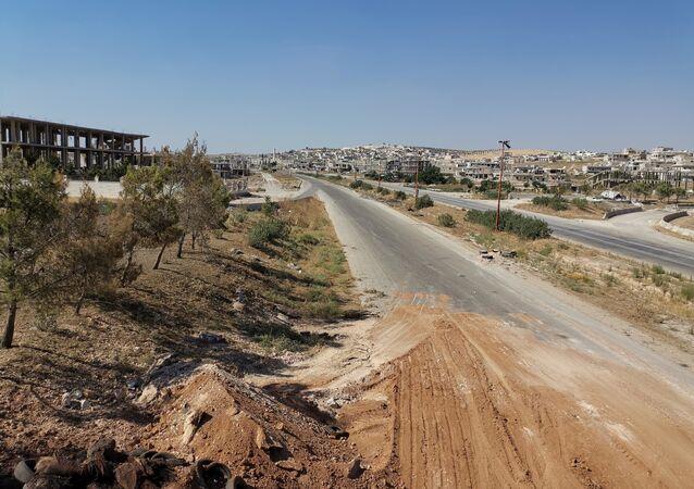 Nella città liberata di Khan Shaykhun, Siria, cominciano i lavori per ripristinare le infrastrutture