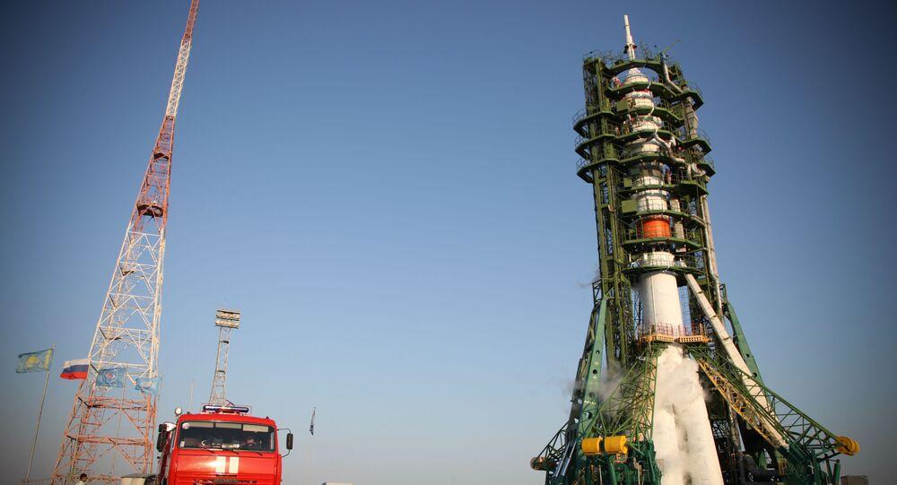 Razzo vettore «Soyuz-2.1а» con a bordo il robot Fedor