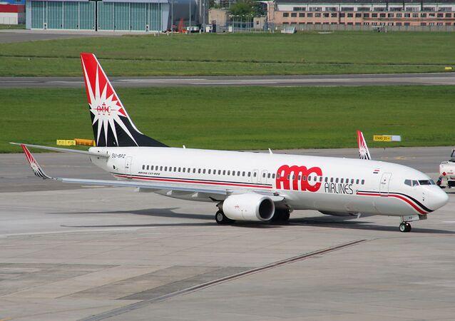 Aereo della compagnia egiziana  AMC Airlines