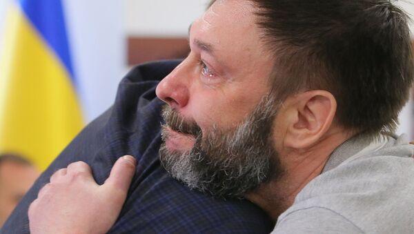 Liberato il direttore di RIA Novosti Ukraina Kirill Vyshinsky - Sputnik Italia