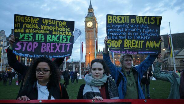 Proteste contro la Brexit a Londra - Sputnik Italia