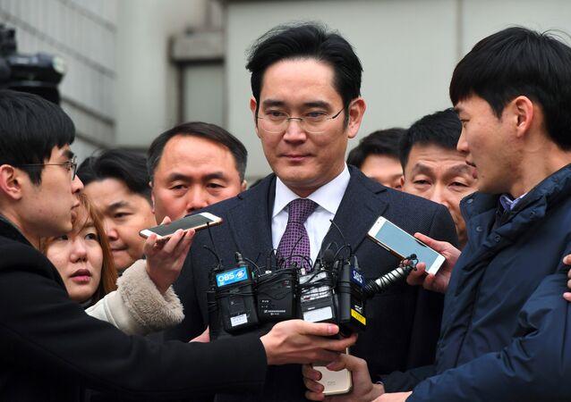 L'erede di Samsung Lee Jae-yong
