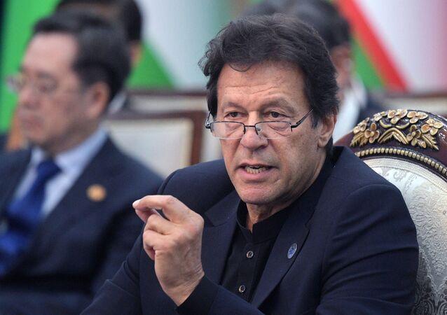 Primo ministro pakistano Imran Khan