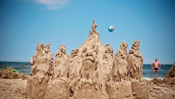 Il castello di sabbia - Sputnik Italia