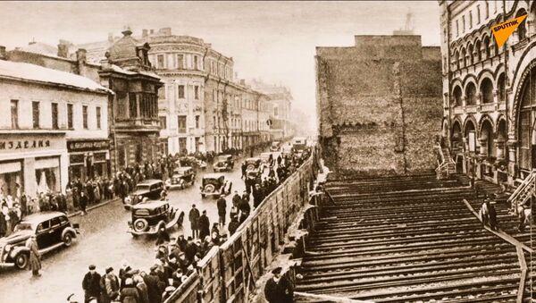Come spostavano gli edifici a Mosca - Sputnik Italia