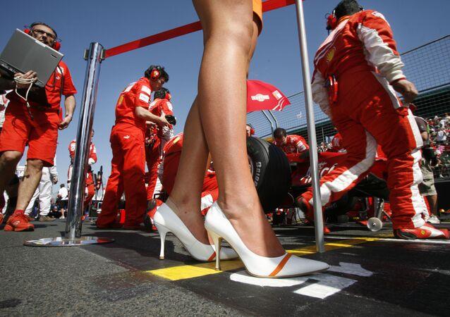 Prima fila Ferrari