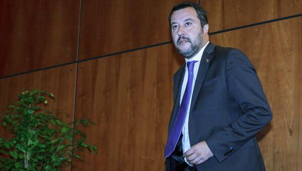 Italy's Deputy Prime Minister and leader of the League Party, Matteo Salvini  - Sputnik Italia
