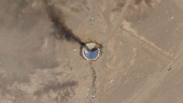 Una delle foto scattate dai satelliti Planet's SkySat del centro spaziale Imam Khomeini - Sputnik Italia