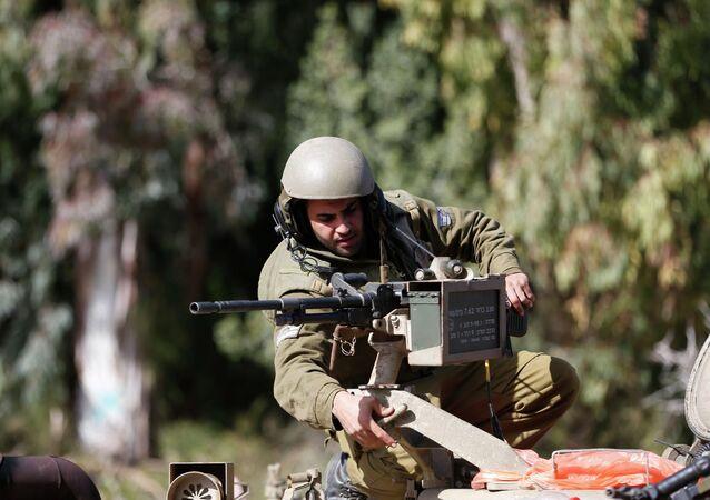 Un soldato israeliano