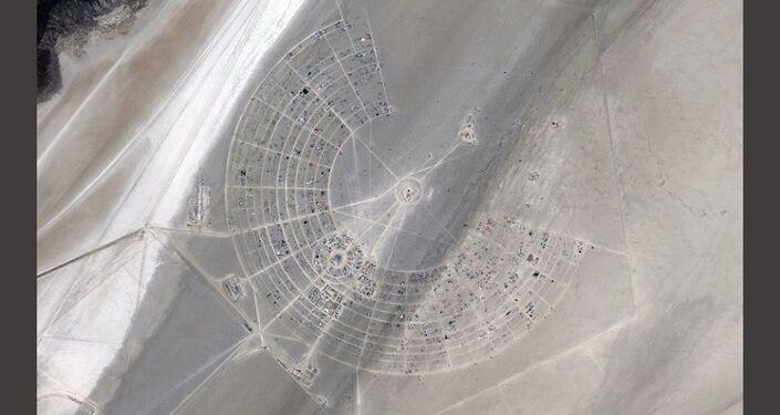 Burning Man -foto satellitare