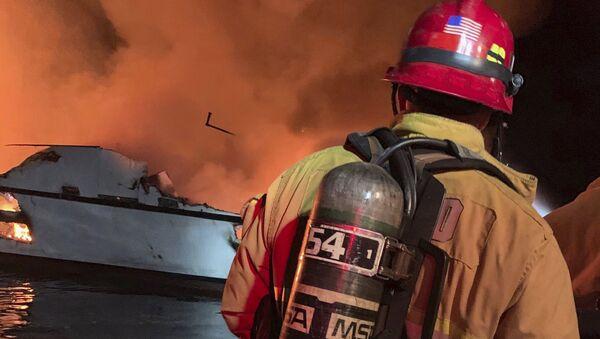 Pompieri americani - Sputnik Italia