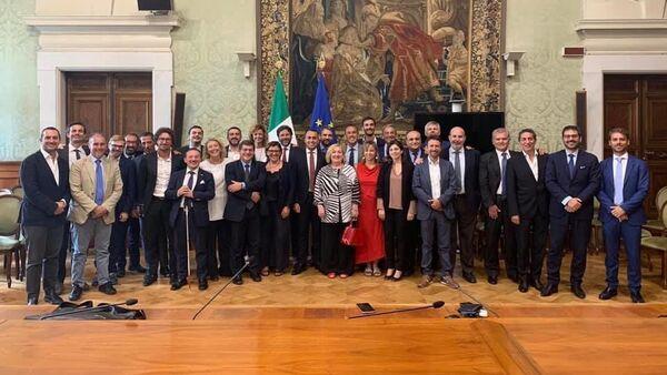 La squadra di governo del Movimento 5 Stelle - Sputnik Italia
