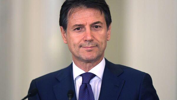 Il primo ministro italiano Giuseppe Conte - Sputnik Italia