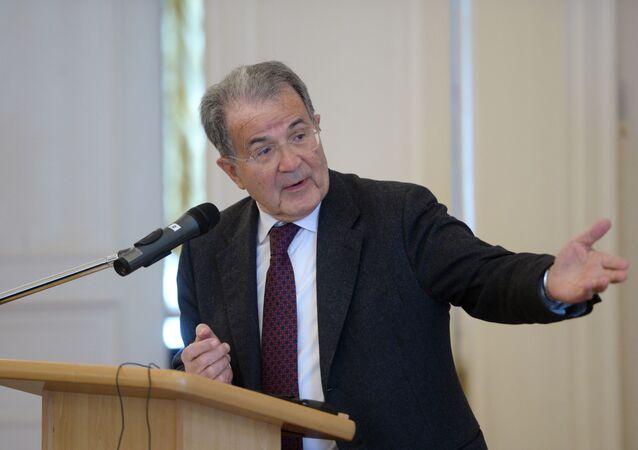 Ex premier italiano Romano Prodi