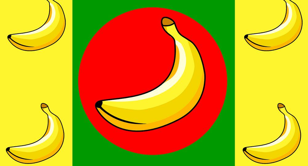 Bandiera della 'Banana Republic'