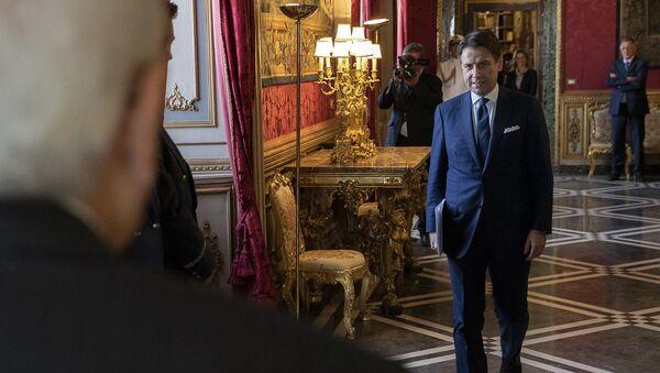 Il premier Conte ricevuto al Quirinale - Sputnik Italia