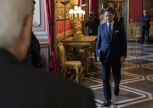 Il premier Conte ricevuto al Quirinale