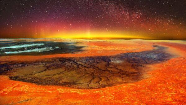 Mondo vulcanico - rappresentazione artistica - Sputnik Italia