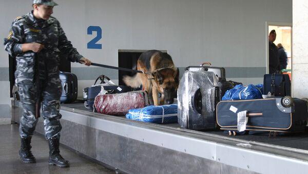 Controllo bagagli in un aeroporto - Sputnik Italia